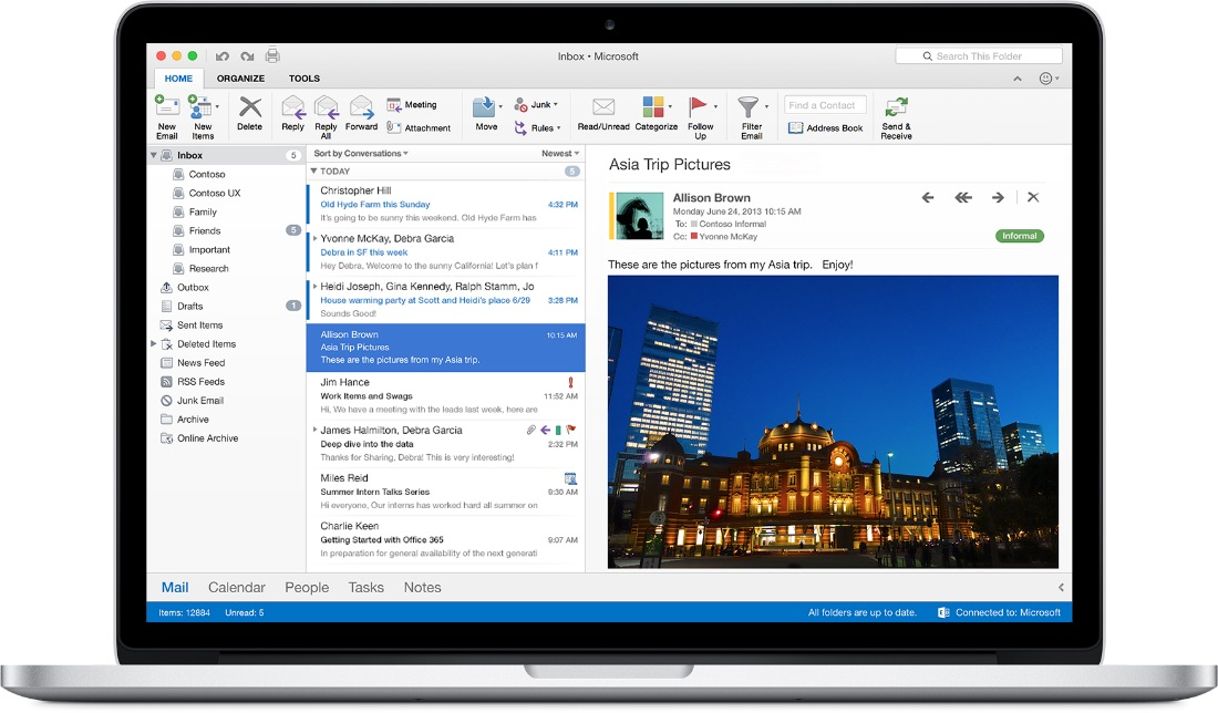 Office 2016 for Mac - Outlook