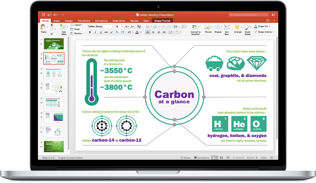 Office 2016 for Mac - Powerpoint