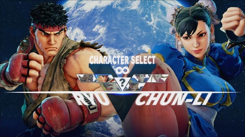 Street Fighter V - Choix Personnage - Capcom