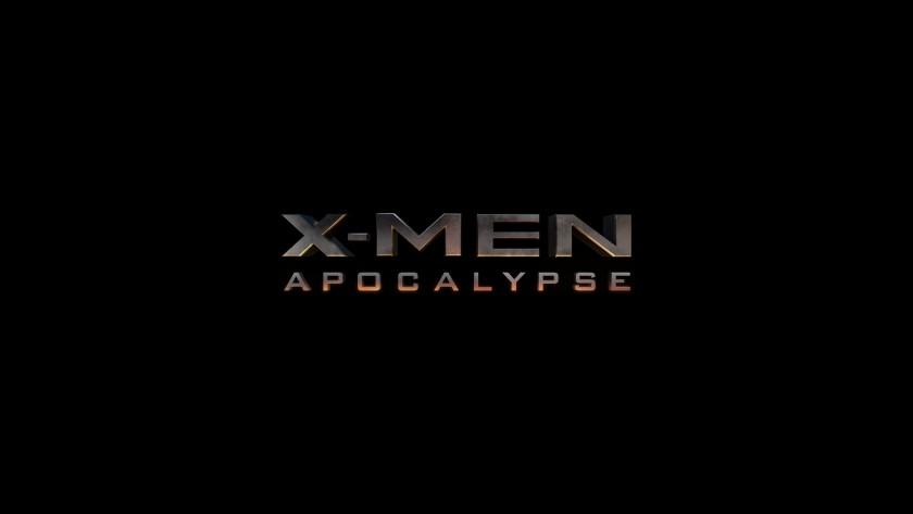 X-Men Apocalypse - Logo Cover