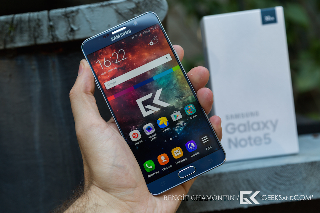 Samsung Galaxy Note 5 - Test Geeks and Com -6