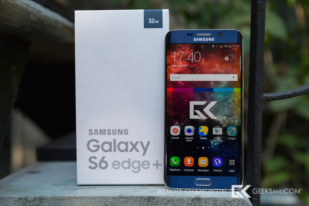 Samsung Galaxy S6 edge plus - Test Geeks and Com