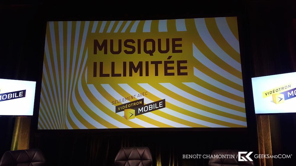 Videotron - Musique Illimitee - Conference de presse