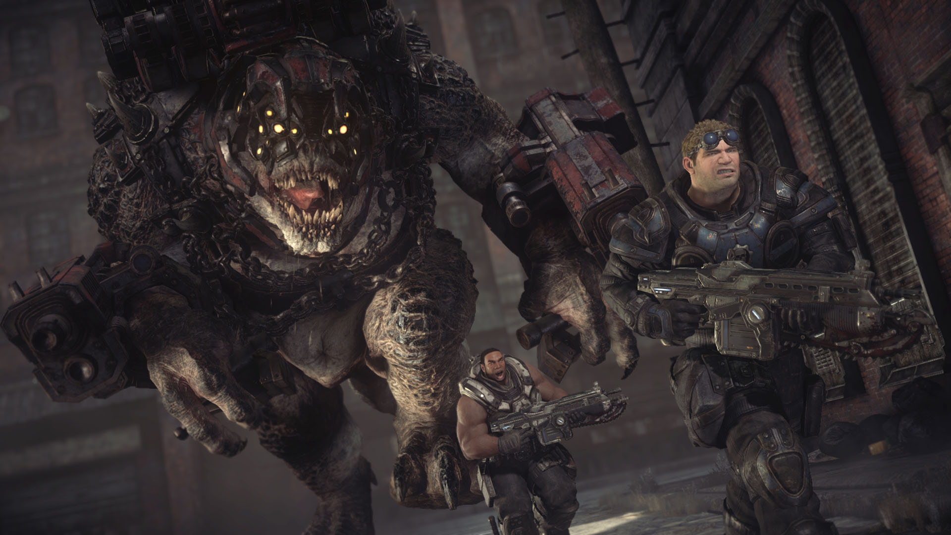 gears of war ultimate edition monstre