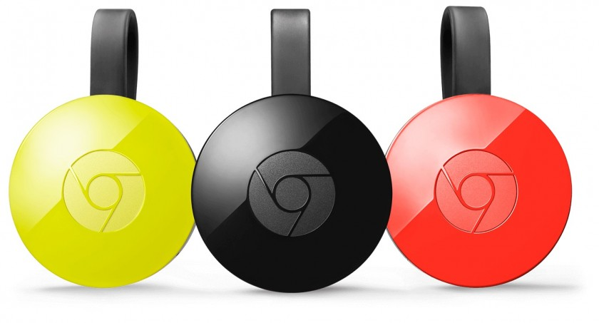 Chromecast Couleurs