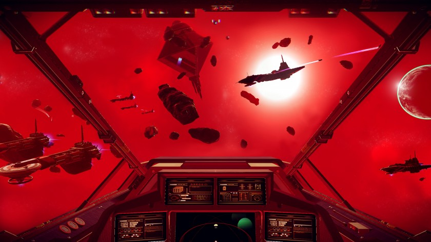 No Man's Sky Red Space