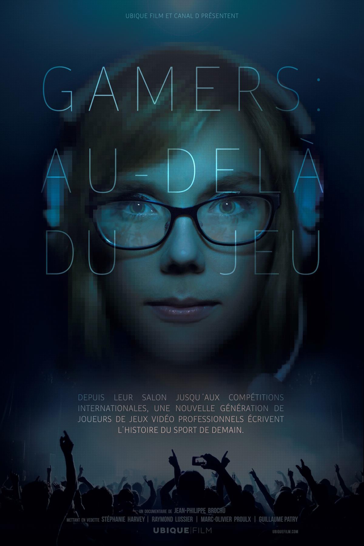 Poster - Gamers au-dela du jeu - e-sport - DOCU-D