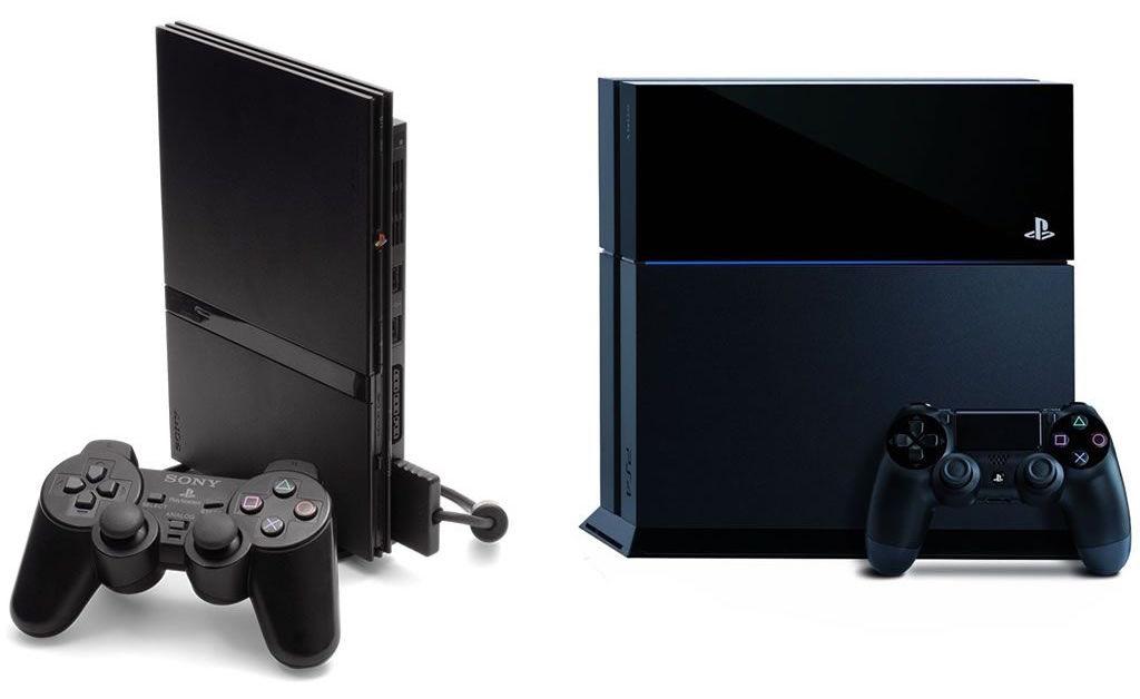PlayStation 2 vs PlayStation 4 Design