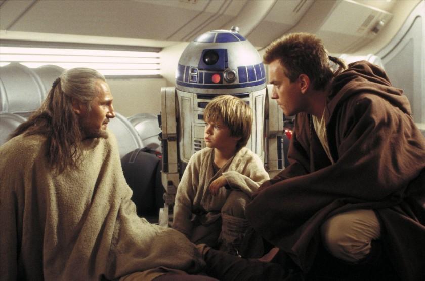 Qui Gon Jinn Anakin Obi-Wan Lucasfilm