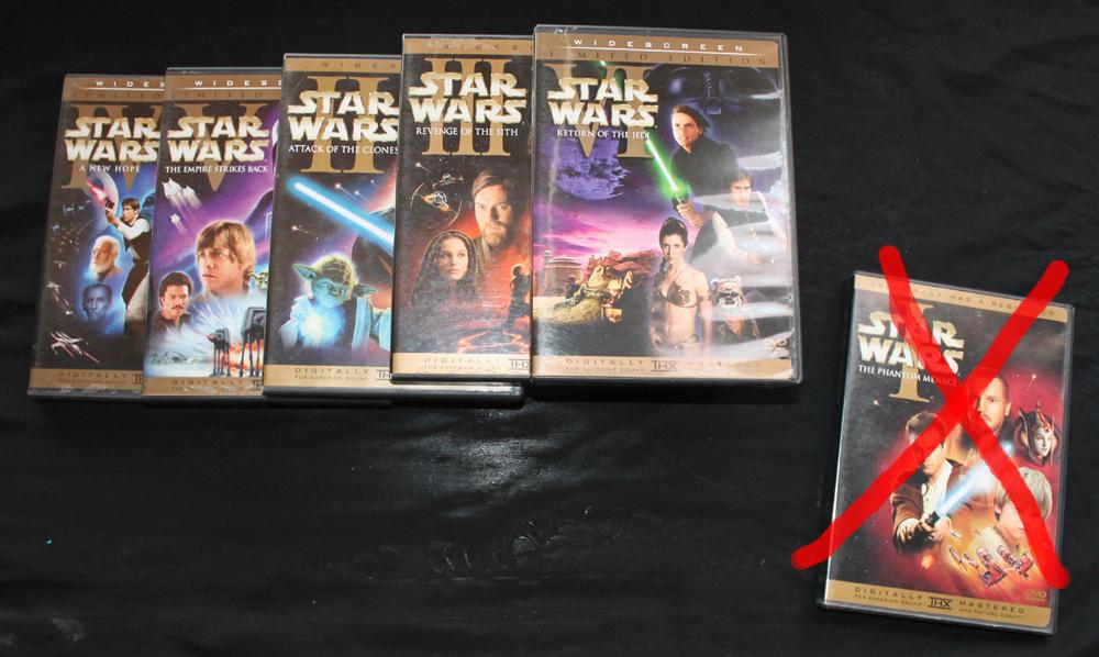 Star Wars - Machete Order