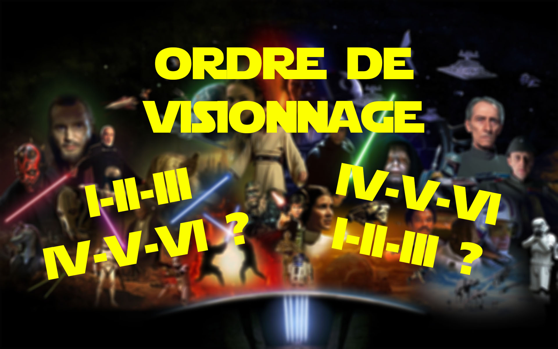 Star Wars Visionnage couverture