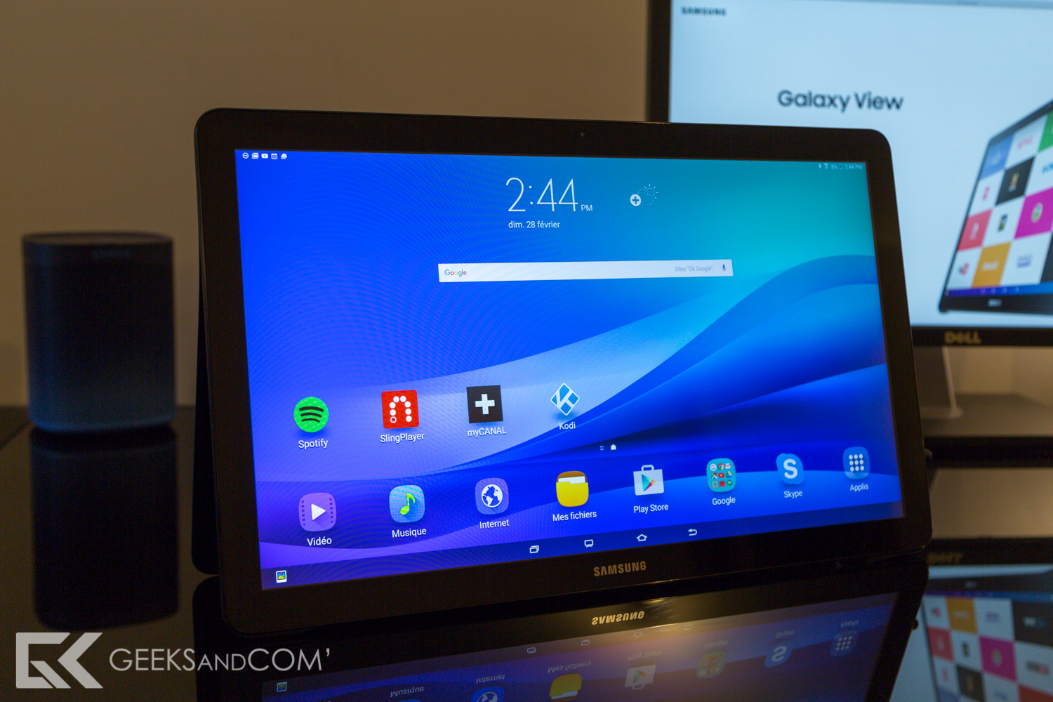 Samsung Galaxy View - Tablette Android - Test Geeks and Com -13