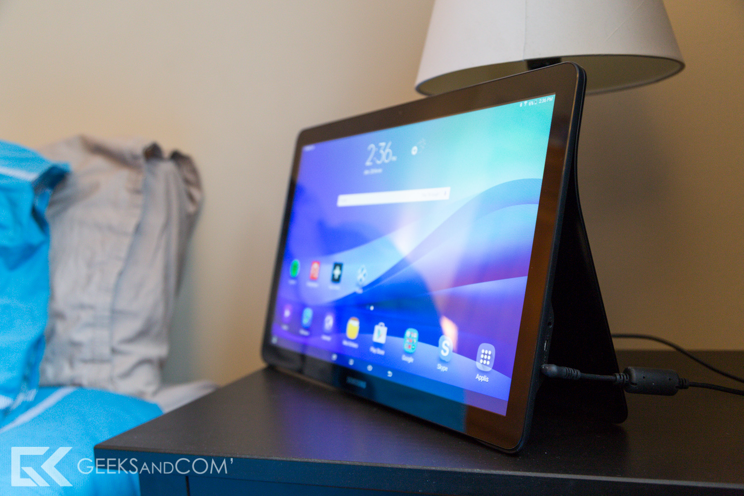 Samsung Galaxy View - Tablette Android - Test Geeks and Com -4