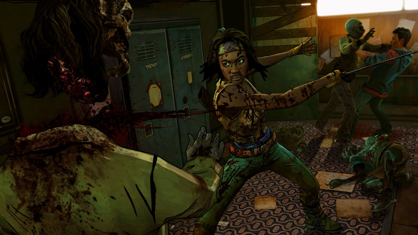 The Walking Dead Michonne - Ep. 1, In Too Deep (6)