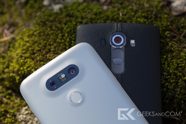 LG G5 vs LG G4 - Capteur photo - Test Geeks and Com