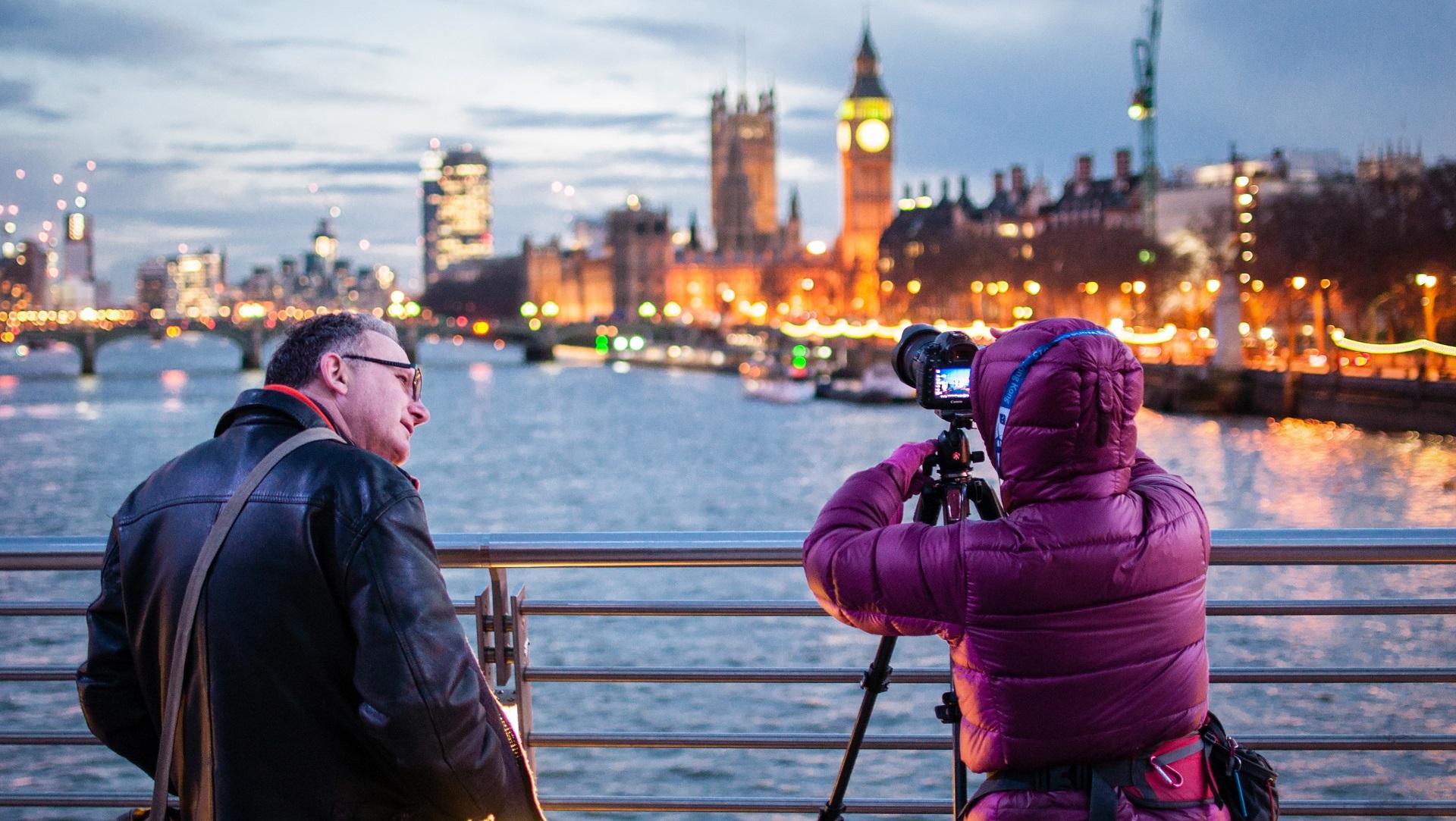 Photographie de nuit - Londres