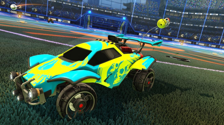 Rrocket League Worms_Grenade