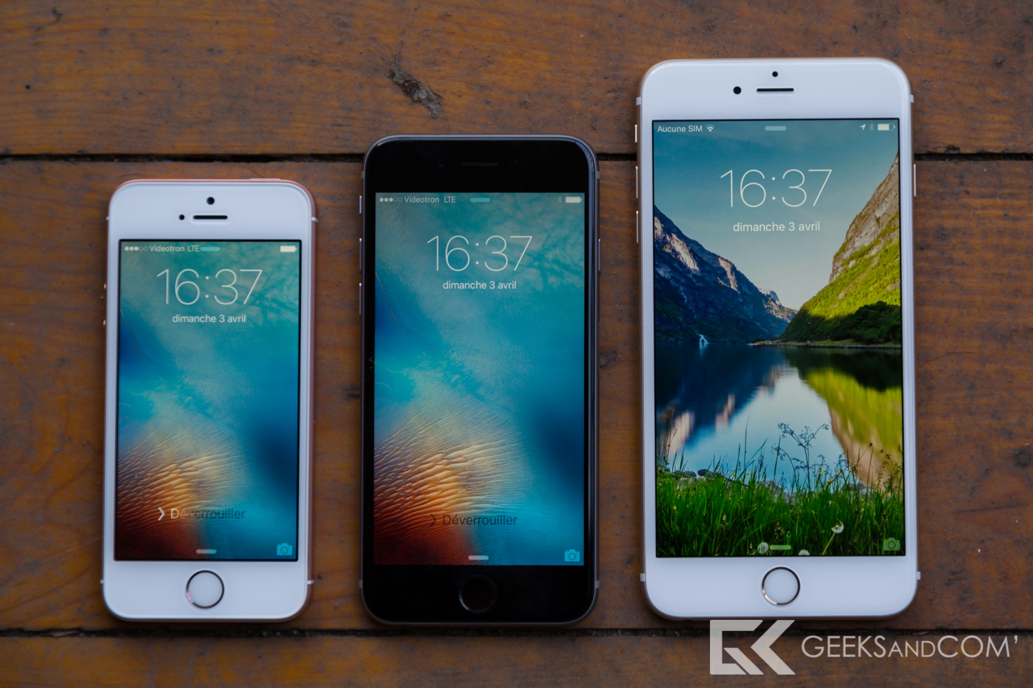 iPhone SE - iPhone 6S - iPhone 6S Plus - Test Geeks and Com -4