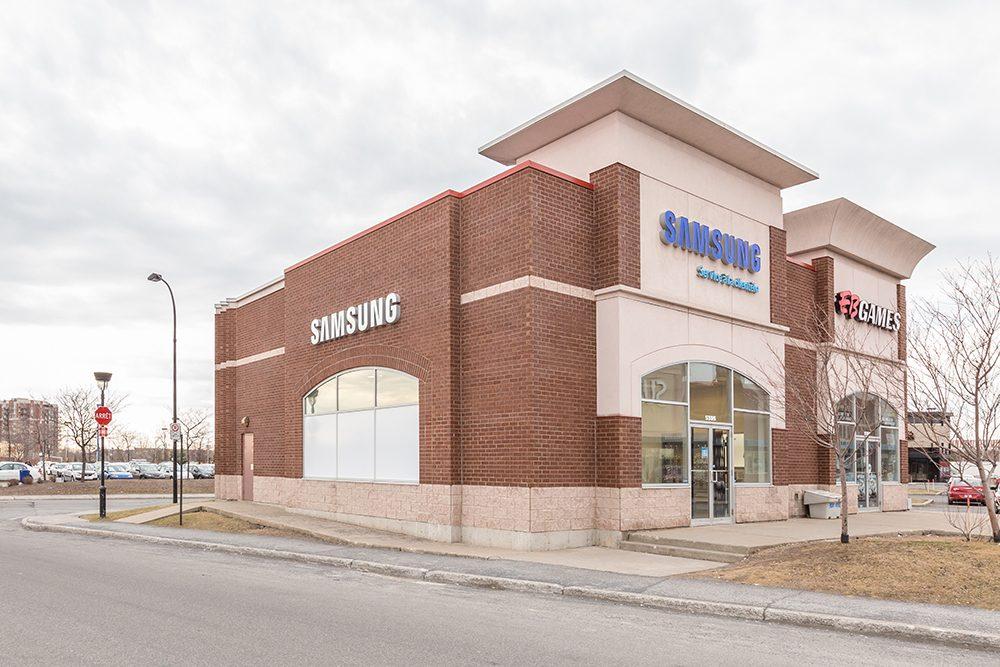 Samsung Centre Services Exterieur