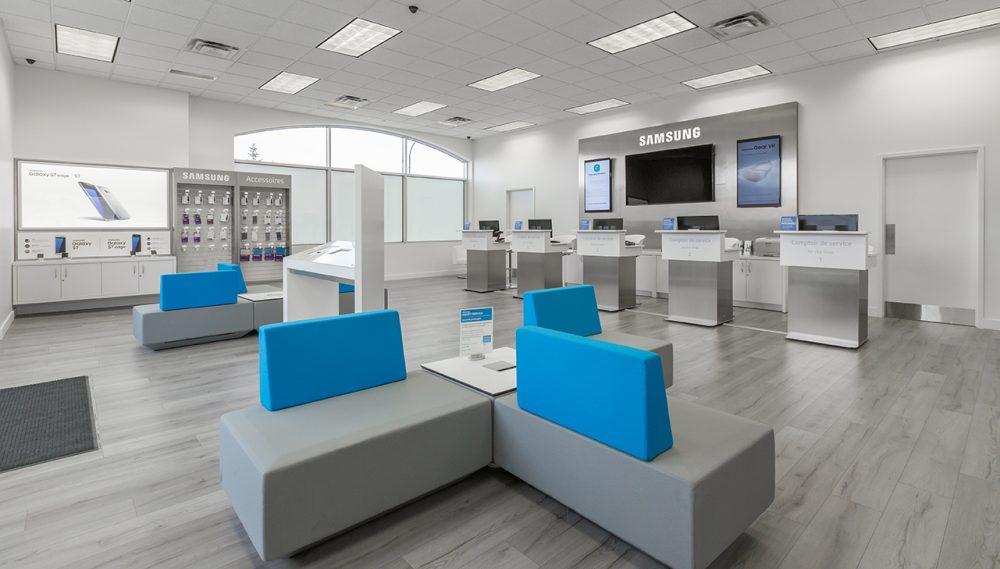 Samsung Centre Services Interieur