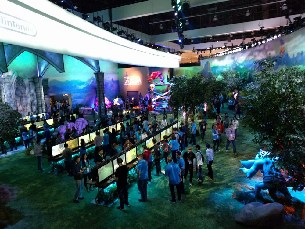 Breath of the Wild Nintendo Stand