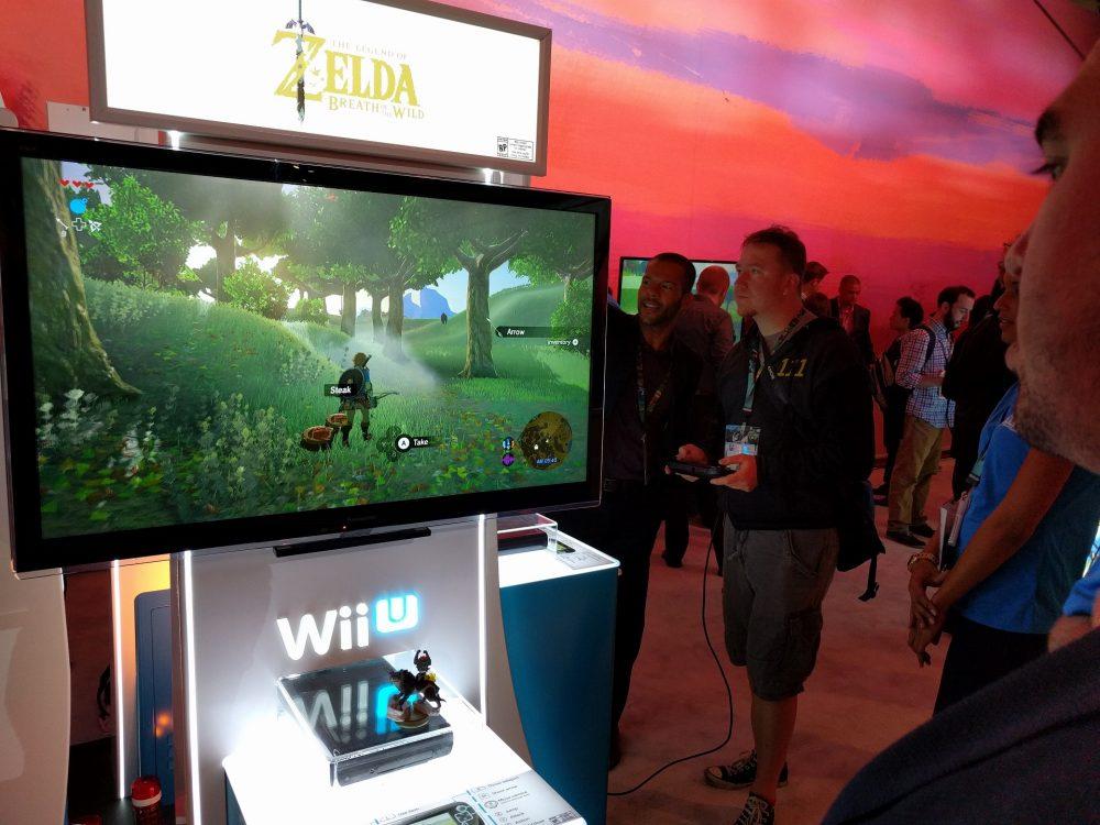 The Legend of Zelda Breath of the Wild E3