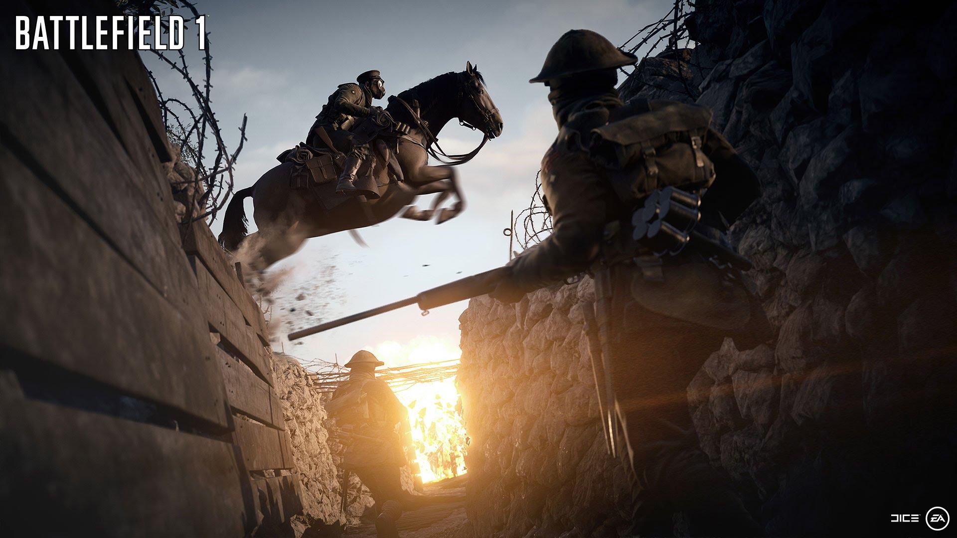 EA Electronic Arts Battlefield 1