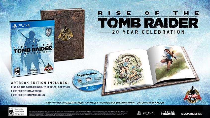 Rise of The Tomb Raider Artbook