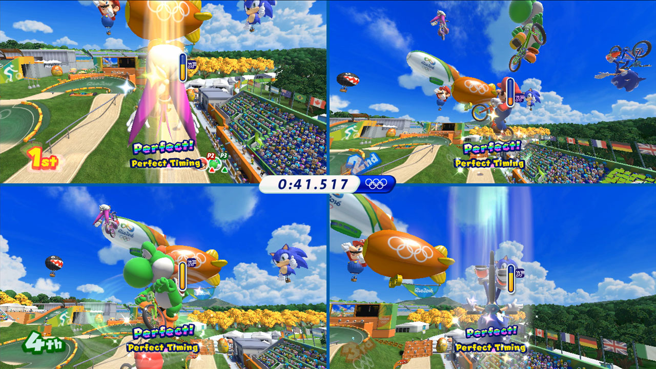 Mario et Sonic aux Jeux olympiques de Rio 2016 7