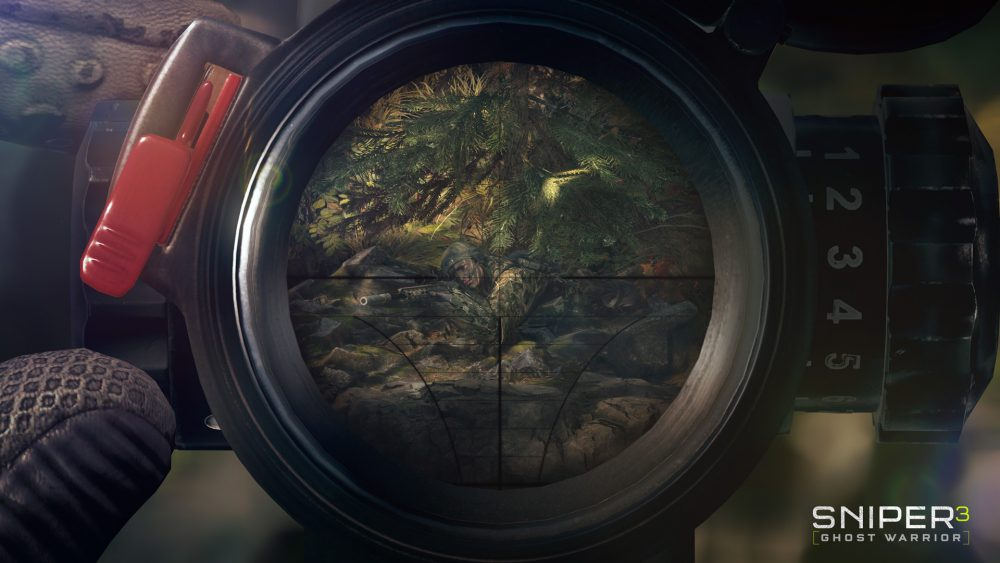 Sniper Ghost Warrior 3 Scope
