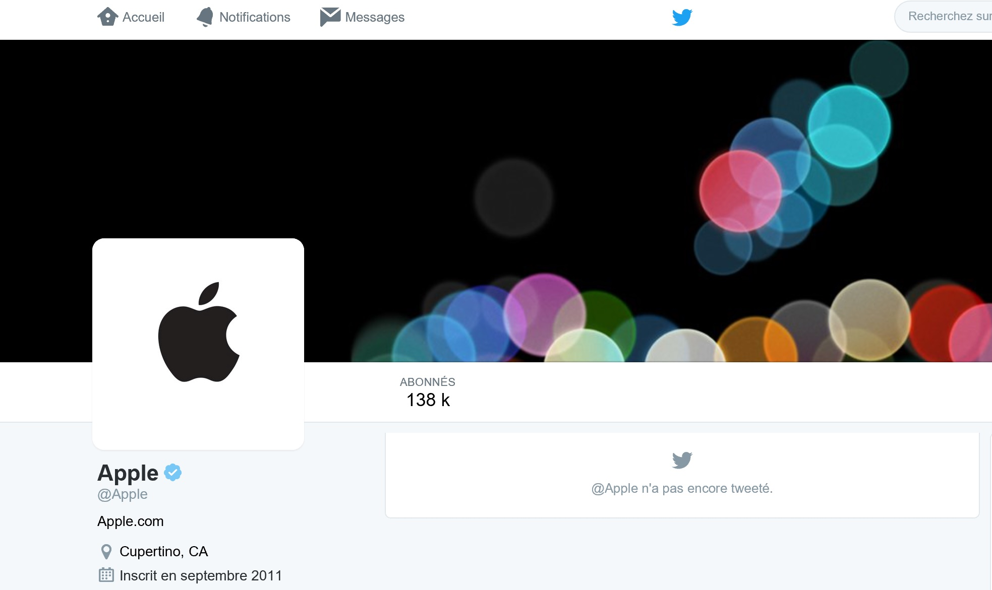 Apple - Twitter