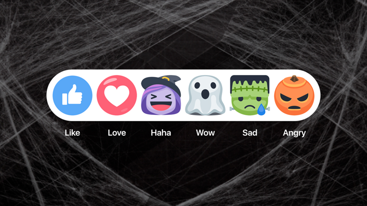 Facebook - Halloween Reaction