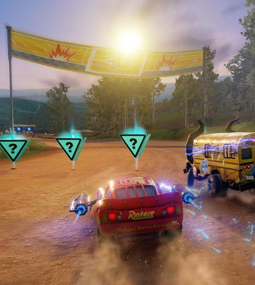 cars 3 battle mode 1