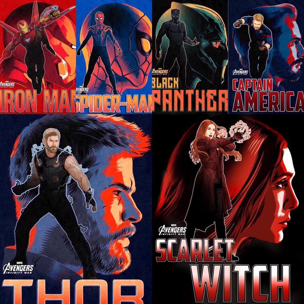 De Nouvelles Affiches Promotionnelles De Avengers