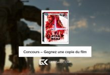 Star Wats : The Last Jedi - Concours