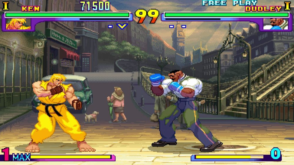 Test de Street fighter 30th anniversary collection