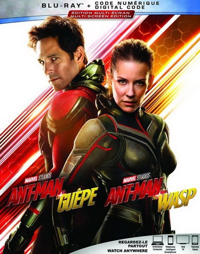 Pochette du Blu-Ray Ant-Man and the Wasp