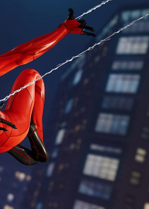 Marvel's Spider-Man - Rouge et noir