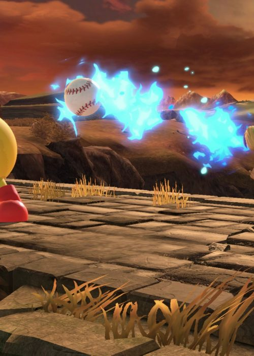 Pac-Man et Young Link