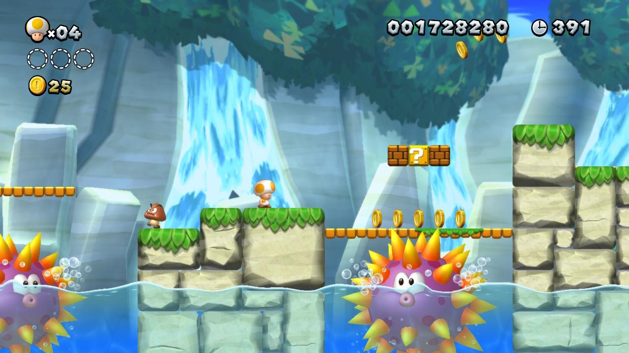 New Super Mario Bros. U Deluxe - Toad
