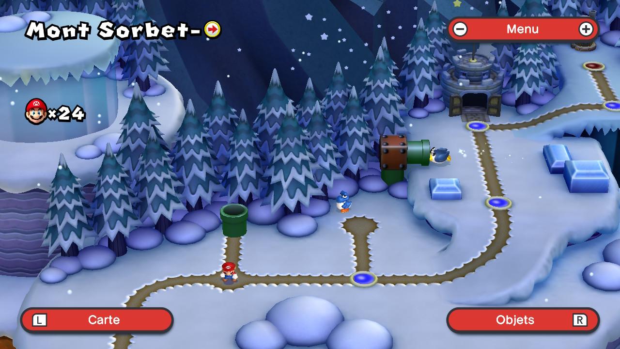 New Super Mario Bros. U Deluxe - Carte 1