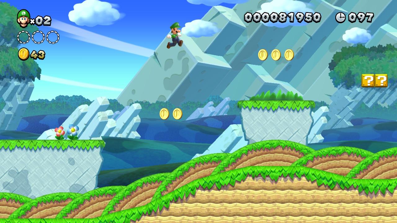 New Super Mario Bros. U Deluxe - Luigi