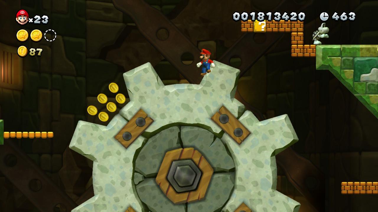 New Super Mario Bros. U Deluxe - Mario