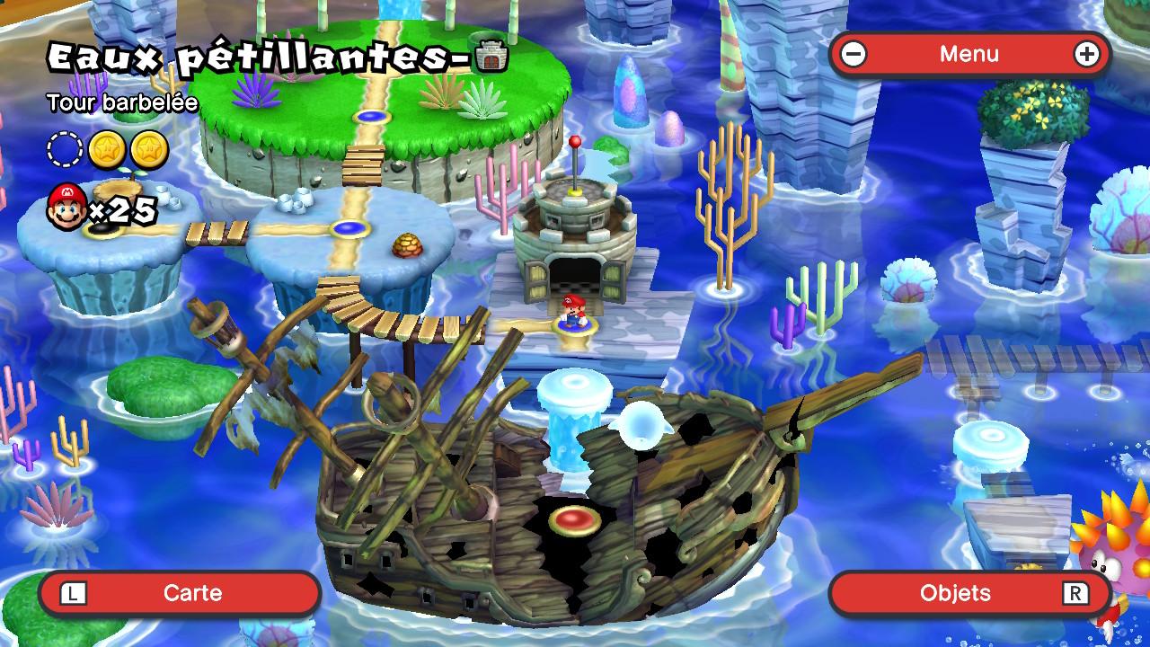 New Super Mario Bros. U Deluxe - Carte 2