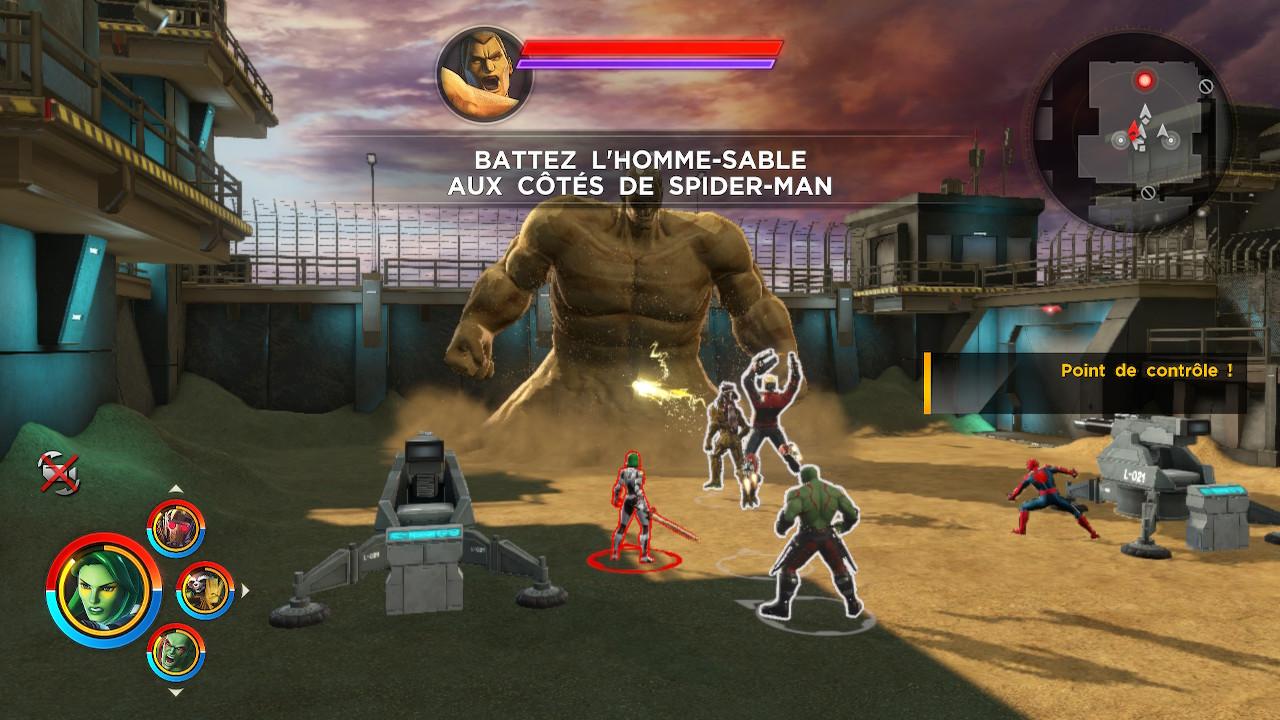 Marvel Ultimate Alliance 3 Sandman
