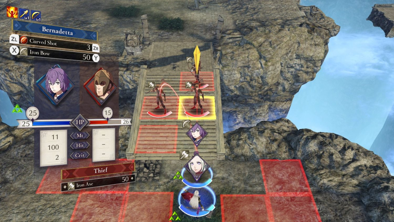 Fire Emblem: Three Houses combat
