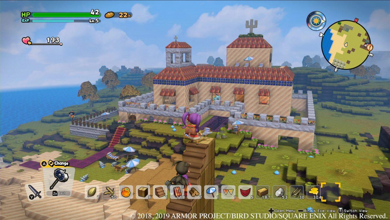 Dragon Quest Builders 2 Castle