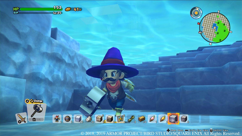 Dragon Quest Builders 2 Eau