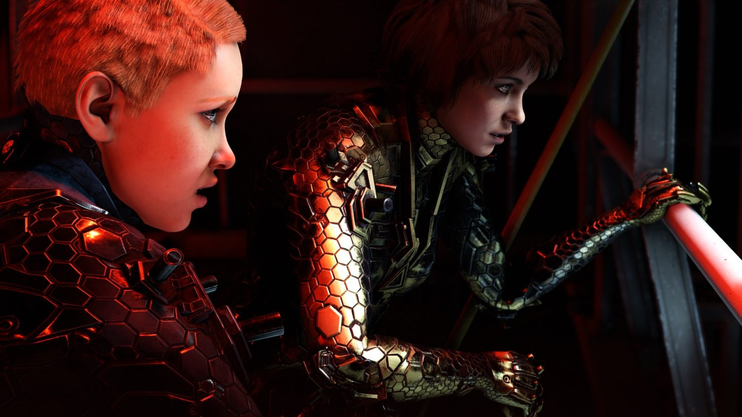 Wolfenstein Youngblood Jess and Soph Helicopter