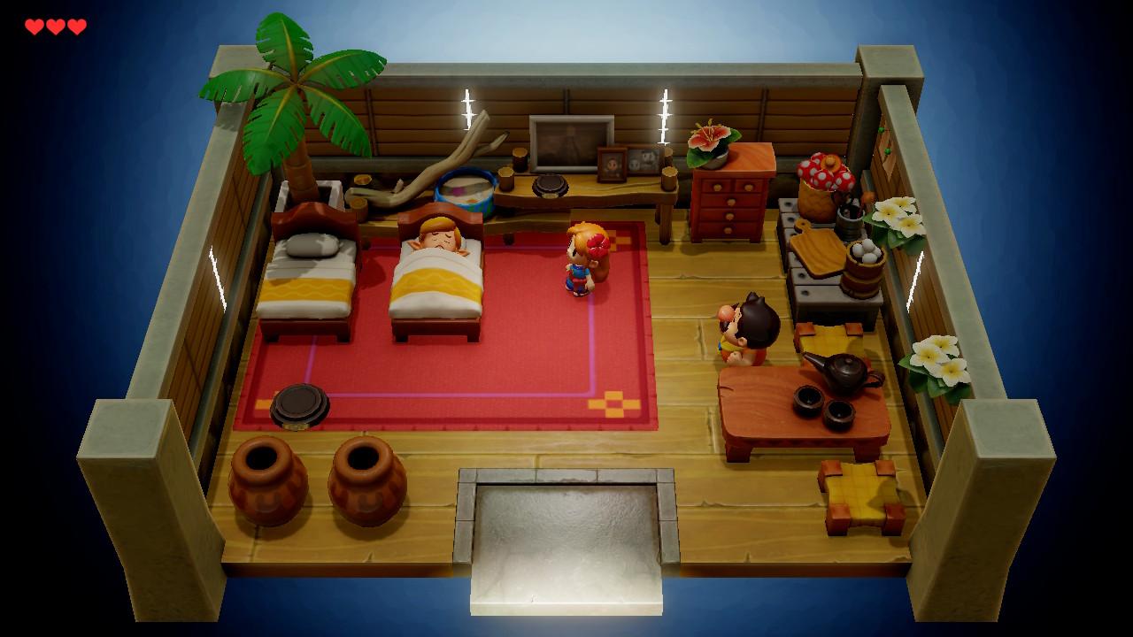 Link's Awakening Marine et Tarin
